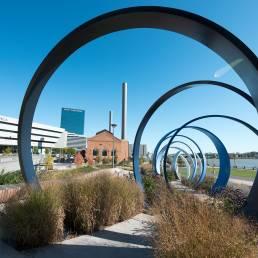 Ring Walkthrough near promenade park in downtown Toledo