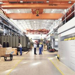 Inside of the Amazon warehouse